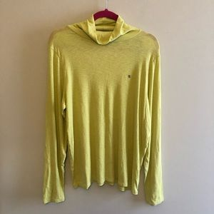 Aerie Real Soft Green Turtle Neck Top Sz XXL